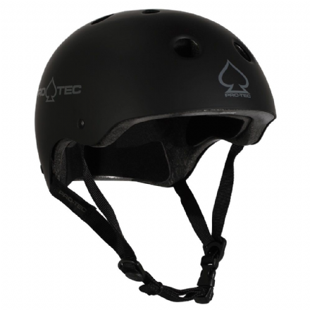 Pro-Tec Classic Certified Helmet Matte Black Medium